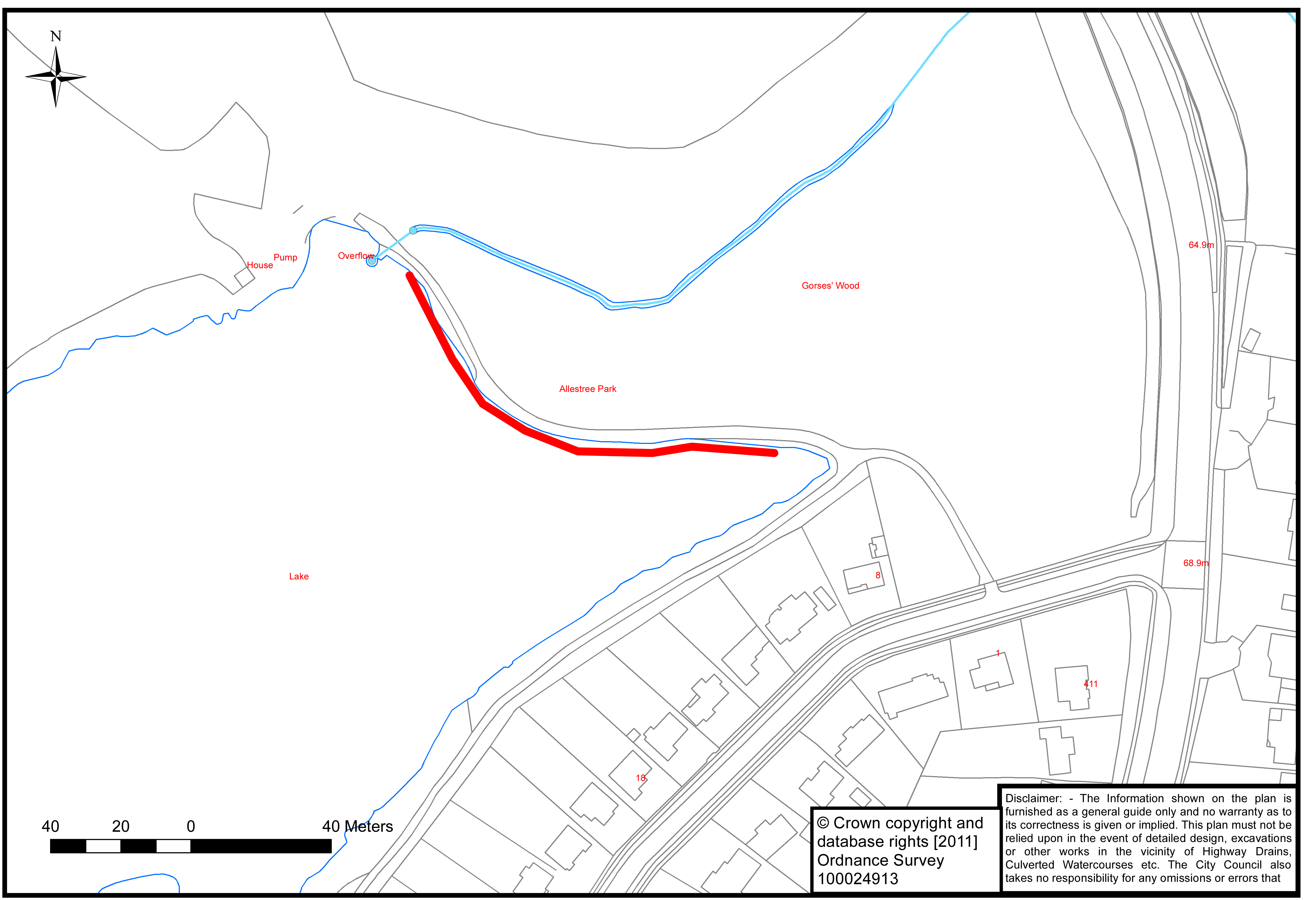 allestree reservoir act work 2